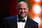 Dana White presents the Sportsman of The Year award during the GQ Australia Men of The Year Awards Ceremony at The Star on November 14, 2018 in Sydney, Australia.