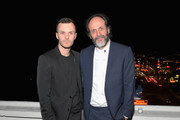 Kris Van Assche and Luca Guadagnino attend GQ and Dior Homme private dinner in celebration of The 2017 GQ Men Of The Year Party at Chateau Marmont on December 7, 2017 in Los Angeles, California.  (Photo by Charley Gallay/Getty Images for GQ) *** Local Caption *** Luca Guadagnino; Kris Van Assche