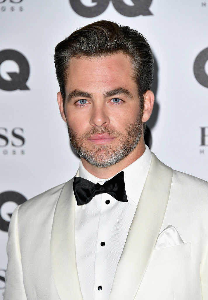 Chris Pine On The Set Of One Day She Ll Darken: GQ Men Of The Year Awards 2016
