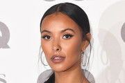 Maya Jama attends the GQ Men of the Year awards at the Tate Modern on September 5, 2018 in London, England.