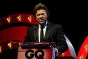 Richard Wilkins presents the award for International Icon during the GQ Men Of The Year Awards Ceremony at The Star on November 15, 2017 in Sydney, Australia.