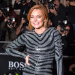 Lindsay Lohan Returns to the Red Carpet