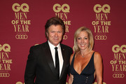 Richard Wilkins and Virginia Burmeister attend the GQ Men Of The Year Awards at The Star on November 15, 2017 in Sydney, Australia.
