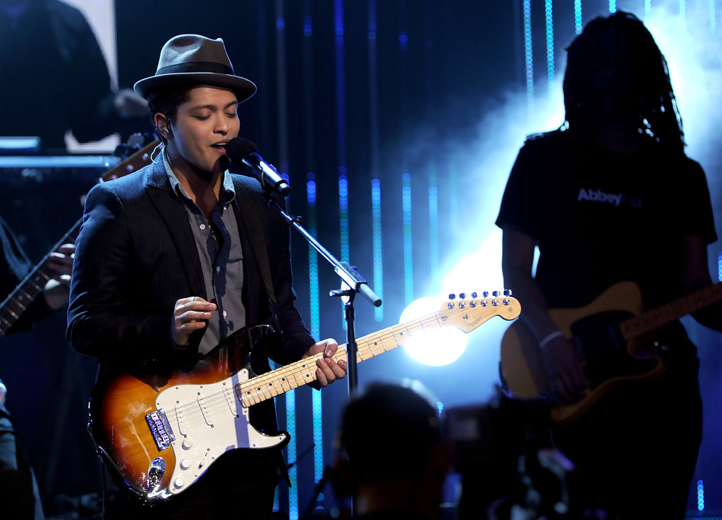 bruno mars photos photos grammy nominations concert live show zimbio. Black Bedroom Furniture Sets. Home Design Ideas