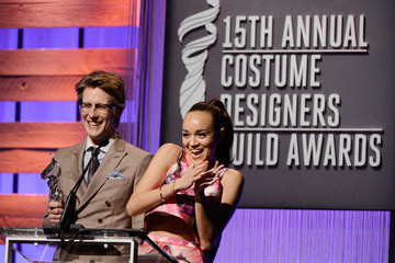 Gabriel Mann Ashley Madekwe 15th Annual Costume Designers Guild Awards With Presenting Sponsor Lacoste - Show