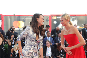 Gabriella Wilde 'First Man' Premiere, Opening Ceremony And Lifetime Achievement Award To Vanessa Redgrave Red Carpet Arrivals - 75th Venice Film Festival
