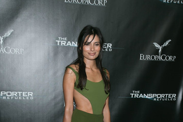 Gabriella Wright Playboy Mansion Hosts Red Carpet Event For EuroaCorp's 'The Transporter Refueled'