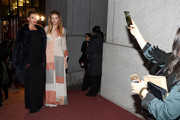 Models Alina Baikova and Andreja Pejic attend Angel attend Angel Ball 2015 hosted by Gabrielle's Angel Foundation at Cipriani Wall Street on October 19, 2015 in New York City.