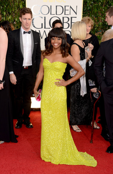 Gabrielle Douglas - 70th Annual Golden Globe Awards - Arrivals