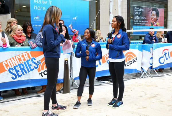 Team USA at NBC's TODAY Show