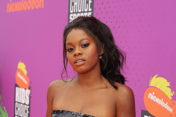 Gabrielle Douglas Nickelodeon Kids' Choice Sports Awards 2017 - Red Carpet
