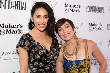 Gabrielle Ruiz Los Angeles Confidential Emmys Celebration Hosted By Cover Star Elisabeth Moss - Arrivals