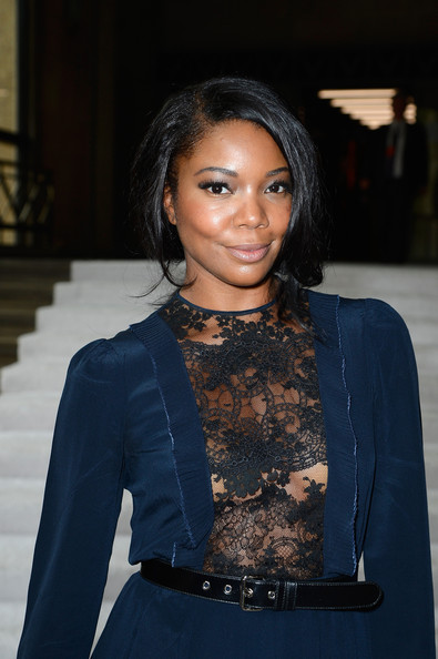 Gabrielle Union - PFW: Front Row at Miu Miu