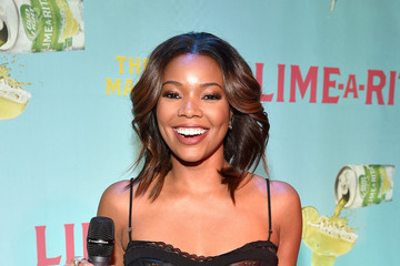 Gabrielle Union Lime-A-Rita Celebrates National Margarita Day At Grand Central With Swizz Beatz And Gabrielle Union