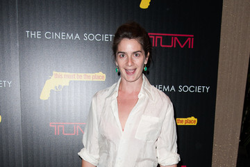 "Gaby Hoffman The Weinstein Company With The Cinema Society And Tumi Host A Screening Of ""This Must Be the Place"""