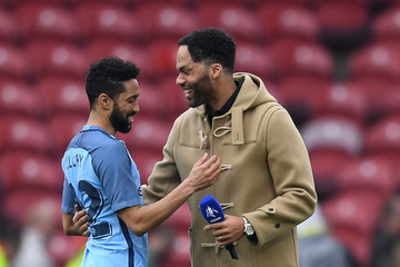Gael Clichy Middlesbrough v Manchester City - The Emirates FA Cup Quarter-Final