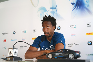 Gael Monfils BMW Open - Day 3