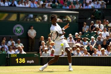 Gael Monfils Day Four: The Championships - Wimbledon 2017