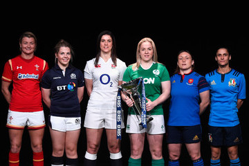 Gaelle Mignot Lisa Martin RBS Six Nations Launch
