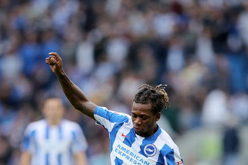 Gaetan Bong Brighton & Hove Albion v Preston North End - Sky Bet Championship
