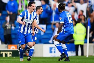 Gaetan Bong Brighton & Hove Albion v Sheffield Wednesday - Sky Bet Championship Play Off: Second Leg