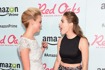 Gage Golightly Alexandra Turshen Amazon Red Carpet Premiere for Brand New Original Comedy Series 'Red Oaks'