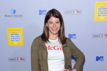 Gail Simmons MTV's 2017 College Signing Day with Michelle Obama - Arrivals