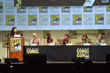 Gal Gadot Entertainment Weekly: Women Who Kick Ass Panel at Comic-Con International 2015 -