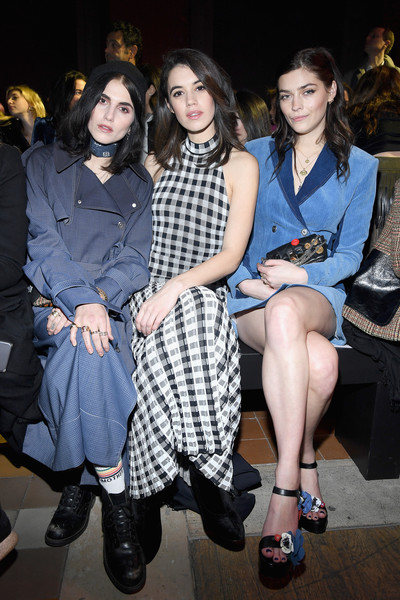 6d35c9002fa Sonia Rykiel : Front Row - Paris Fashion Week Womenswear Fall/Winter 2018 /2019