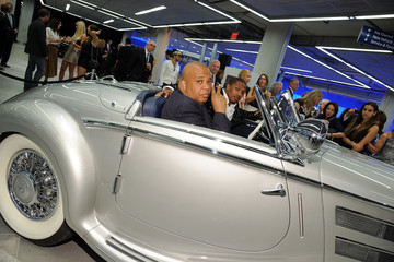 Nick Cannon Rev Run The Gala Opening Of The New Mercedes-Benz Manhattan