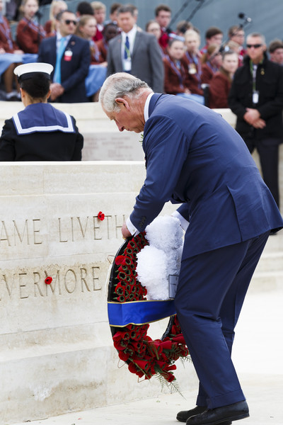 Prince Charles, Prince of Wales lays a wreath at a commemorative ceremony marking the centenary of the Gallipoli campaign at Lone Pine on April 25, 2015 in Eceabat, Turkey. Turkish and Allied powers representatives, as well as family members of those who served, are commemorating the 100th anniversary of the Gallipoli campaign with ceremonies at memorials across the Gallipoli Peninsula. The Gallipoli land campaign, in which a combined Allied force of British, French, Australian, New Zealand and Indian troops sought to occupy the Gallipoli Peninsula and the strategic Dardanelles Strait during World War I, began on April 25, 1915 against Turkish forces of the Ottoman Empire. The Allies, unable to advance more than a few kilometers, withdrew after eight months. The campaign cost the Allies approximately 50,000 killed and up to 200,000 wounded, the Ottomans approximately 85,000 killed and 160,000 wounded.