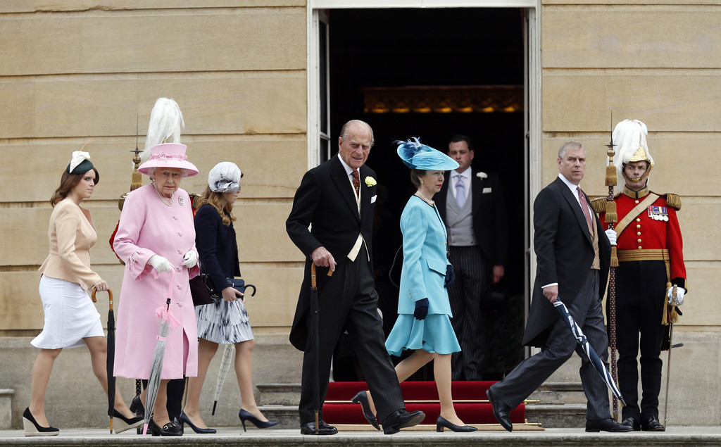 Princess Anne And Prince Philip Photos Photos Buckingham