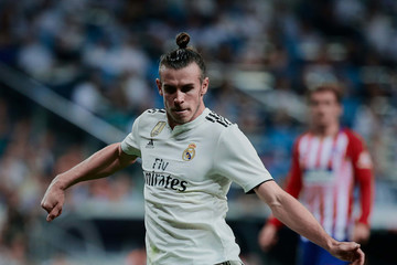 Gareth Bale Real Madrid CF vs. Club Atletico De Madrid - La Liga