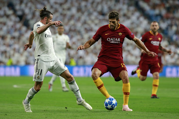 Gareth Bale Real Madrid  v AS Roma - UEFA Champions League Group G