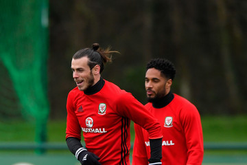 Gareth Bale Wales Training Session