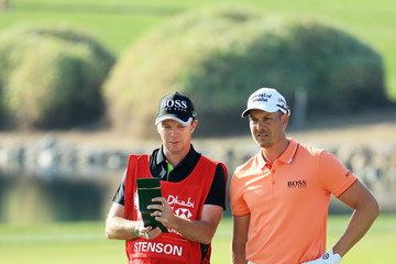 Gareth Lord Abu Dhabi HSBC Golf Championship - Day One