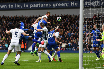 Gareth Mcauley West Bromwich Albion v Leicester City - Premier League