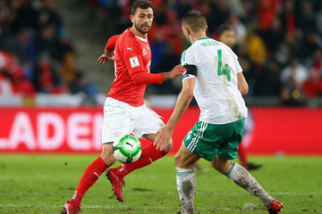Gareth Mcauley Switzerland v Northern Ireland - FIFA 2018 World Cup Qualifier Play-Off: Second Leg