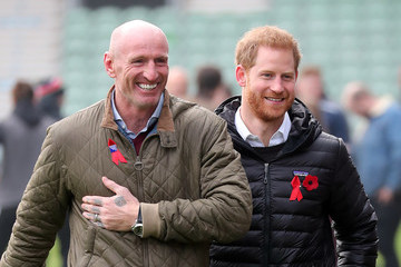 Gareth Thomas The Duke Of Sussex Attends A Terrence Higgins Trust Event Ahead Of National HIV Testing Week