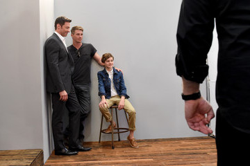 Garrett Hedlund Behind The Scenes of the Getty Images Portrait Studio Powered By Samsung Galaxy At Comic-Con International 2015