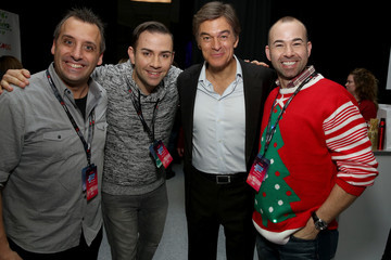 Garrett Vogel Z100's Jingle Ball 2015 - Z100's Artist Gift Lounge