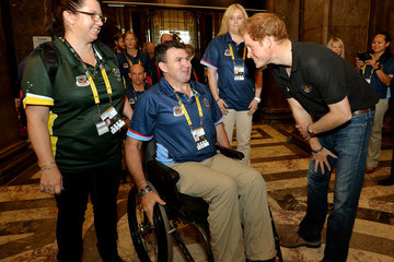 Garry Robinson Prince Harry at the Invictus Games - Ottobock: Day 1