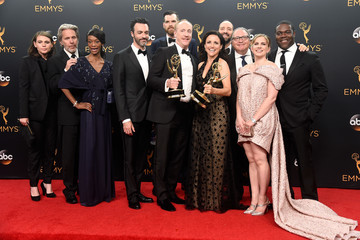 Gary Cole Anna Chlumsky 68th Annual Primetime Emmy Awards - Press Room