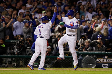 Gary League Championship Series - Los Angeles Dodgers v Chicago Cubs - Game Four