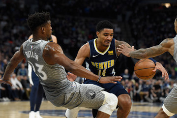 Gary Harris Denver Nuggets vs. Minnesota Timberwolves