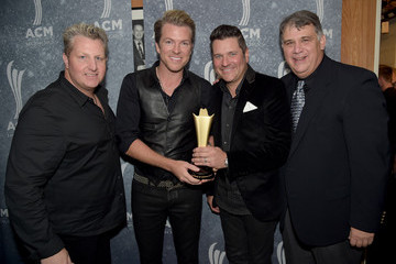 Gary LeVox 8th Annual ACM Honors - Backstage And Audience