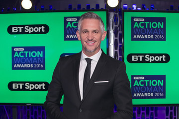 Gary Lineker BT Sport Action Woman of the Year Awards 2016 - Arrivals