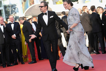 Gary Oldman Gisele Schmidt Closing Ceremony And 'The Man Who Killed Don Quixote' Red Carpet Arrivals - The 71st Annual Cannes Film Festival