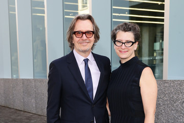 Gary Oldman Guests Attend the Prada Cocktail Party at Milan Collections Men SS16