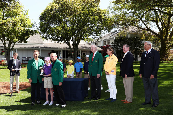 Drive, Chip, And Putt Championship At Augusta National Golf Club